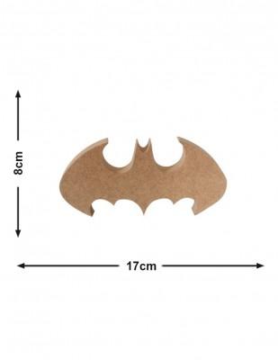 - Ahşap Batman ve Yarasa - Kalınlık 18 mm - KF50T