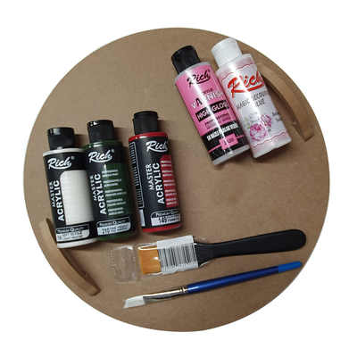 - Ahşap Boyama Seti - Çalışma İçin Herşey Hazır Set 2 (1)