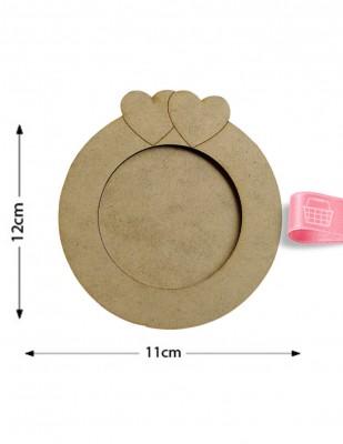 - Ahşap Çay Tabağı - 11 x 11 cm - KB3T (1)