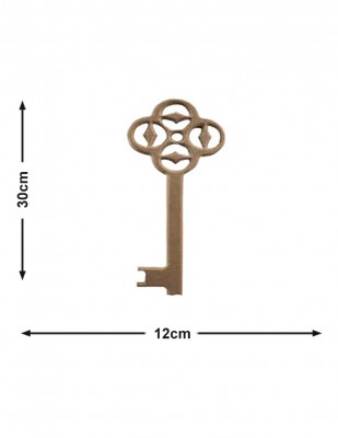 - Ahşap Dekoratif Anahtar - Kalınlık 18 mm - KF37T