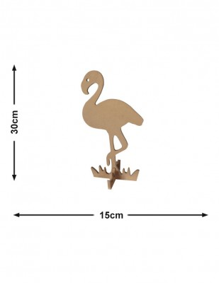- Ahşap Flamingo - KM51T
