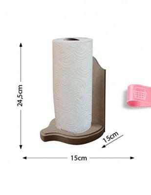 - Ahşap Kağıt Havluluk - Duvara Asılabilir veya Masada Kullanılabilir - KH7T (1)