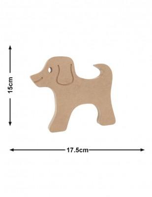 - Ahşap Köpek - Kalınlık 18 mm - KF59T