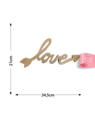 Ahşap Love Yazısı - KM19T