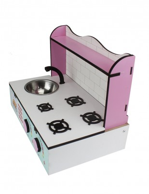 - Ahşap Oyuncak - Masa Üstü Mutfak - KCG60T (1)