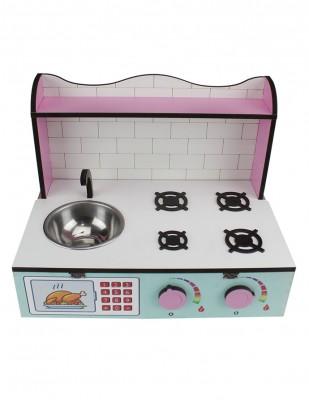 - Ahşap Oyuncak - Masa Üstü Mutfak - KCG60T