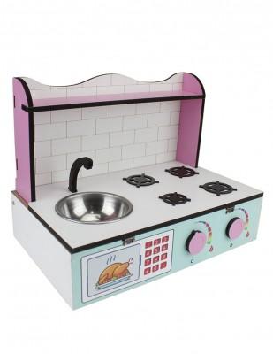 - Ahşap Oyuncak - Masa Üstü Mutfak - KCG61T (1)