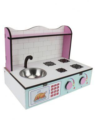 Ahşap Oyuncak - Masa Üstü Mutfak - KCG61T