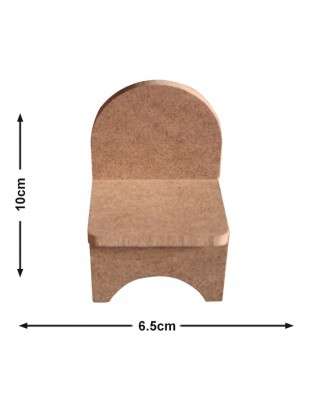 - Ahşap Oyuncak, Minyatür Sandalye - KCHG8T
