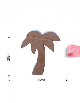 - Ahşap Palmiye Figürü - Kalınlık 18 mm - KF30T