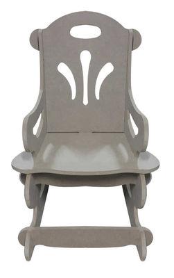 Ahşap Sallanan Çocuk Sandalyesi, Çocukların Oturabilecekleri Sağlamlıkta - KCHG1T