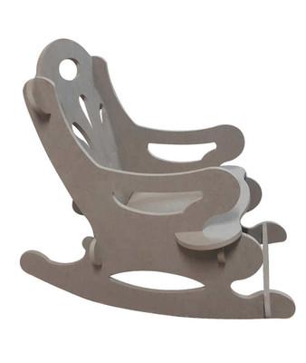 - Ahşap Sallanan Çocuk Sandalyesi, Çocukların Oturabilecekleri Sağlamlıkta - KCHG1T (1)