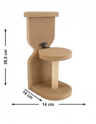- Ahşap Tuvalet Kağıtlığı - KH8T
