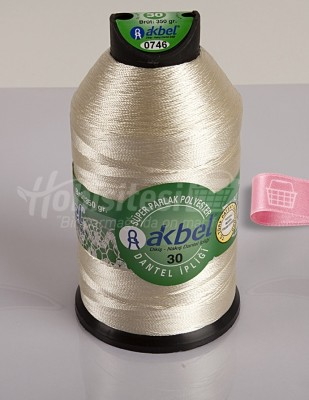 AKBEL - Akbel Dantel İpliği - No:30 - 350gr - Renk 746