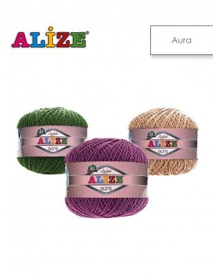 ALİZE - Alize Aura El Örgü İplikleri