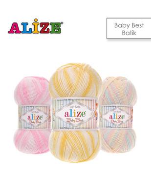 - Alize Baby Best Batik El Örgü İplikleri