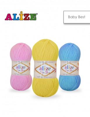 ALİZE - Alize Baby Best El Örgü İplikleri