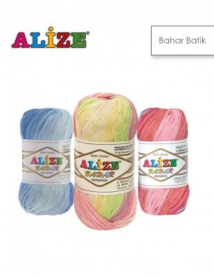 ALİZE - Alize Bahar Batik El Örgü İplikleri