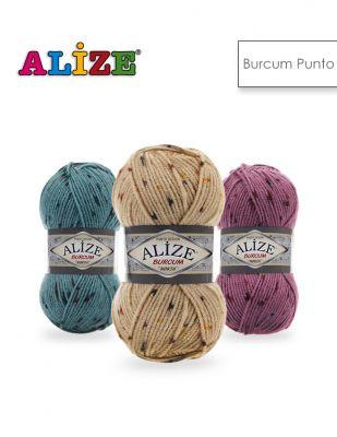 Alize Burcum Punto El Örgü İplikleri