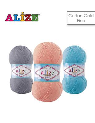 ALİZE - Alize Cotton Gold Fine El Örgü İplikleri