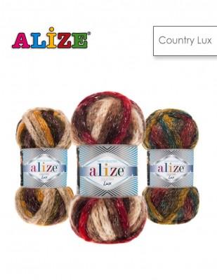- Alize Country Lux El Örgü İplikleri