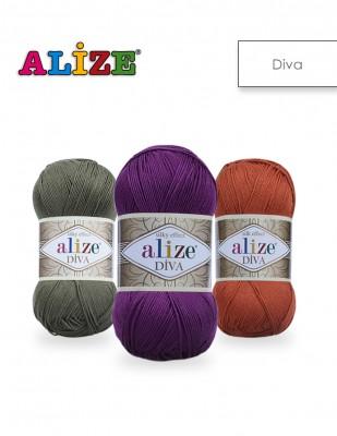 ALİZE - Alize Diva El Örgü İplikleri