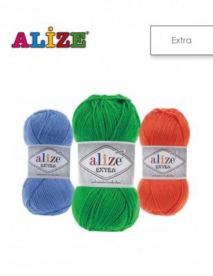 ALİZE - Alize Extra El Örgü İplikleri