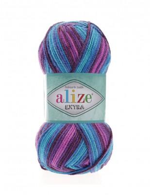ALİZE - Alize Extra Folklorik Batik El Örgü İplikleri (1)