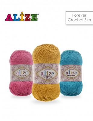 ALİZE - Alize Forever Simli El Örgü İplikleri