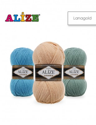 ALİZE - Alize Lanagold El Örgü İplikleri