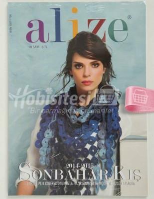 ALİZE - Alize Örgü Dergisi - 2014 / 2015 Sonbahar / Kış - Sayı 18