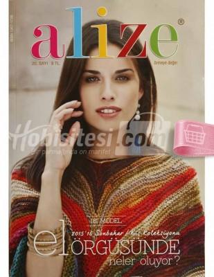 ALİZE - Alize Örgü Dergisi - El Örgüsünde Neler Oluyor - Sayı 20