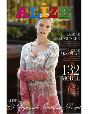 ALİZE - Alize Örgü Dergisi - Sayı 10