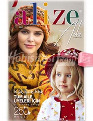 ALİZE - Alize Örgü Dergisi - Sayı 21