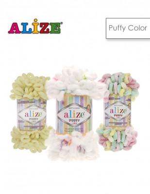 ALİZE - Alize Puffy Color El Örgü İplikleri