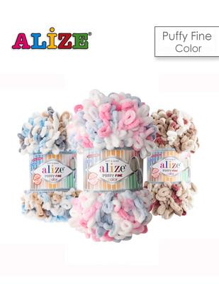 ALİZE - Alize Puffy Fine Color El Örgü İplikleri