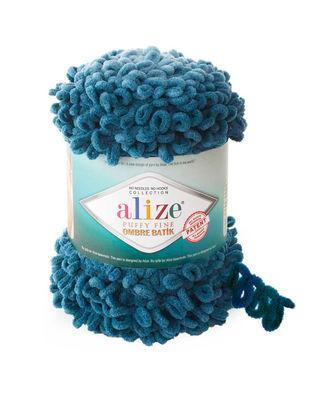 Alize Puffy Fine Ombre Batik El Örgü İplikleri - 500 gr - 73 metre