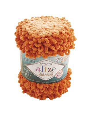 ALİZE - Alize Puffy Fine Ombre Batik El Örgü İplikleri - 500 gr - 73 metre (1)