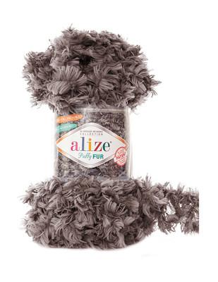 Alize Puffy Fur El Örgü İplikleri - Thumbnail