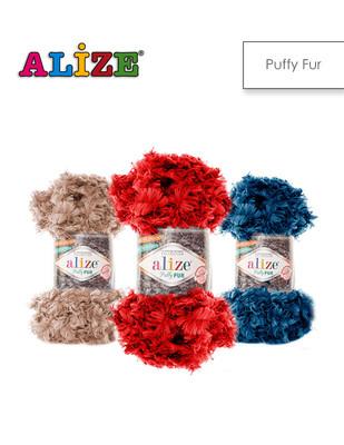 ALİZE - Alize Puffy Fur El Örgü İplikleri