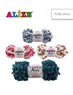 ALİZE - Alize Puffy More El Örgü İplikleri - 150 gr