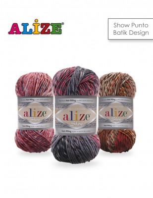 ALİZE - Alize Show Punto Batik Design El Örgü İplikleri