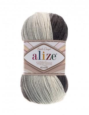 ALİZE - Alize Süperlana Klasik Batik El Örgü İplikleri (1)