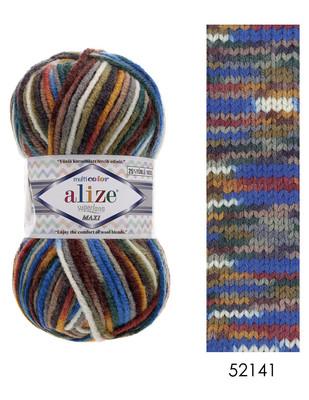 ALİZE - Alize Superlana Maxi Multicolor El Örgü İplikleri (1)