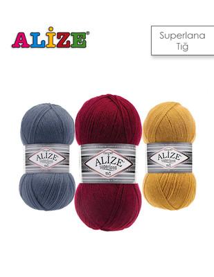 ALİZE - Alize Superlana Tığ El Örgü İplikleri