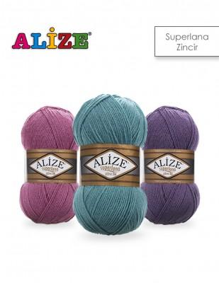 ALİZE - Alize Superlana Zincir El Örgü İplikleri