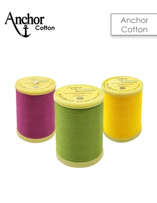 ANCHOR - Anchor Cotton Makina Nakış İpliği, Makara - 10 gr