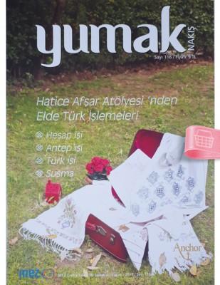 - Yumak Nakış Dergisi - Elde Türk İşlemeleri - Sayı 116