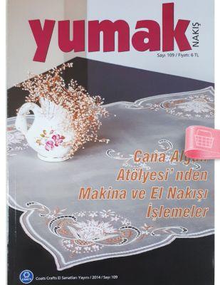 Yumak Nakış Dergisi - Sayı 109