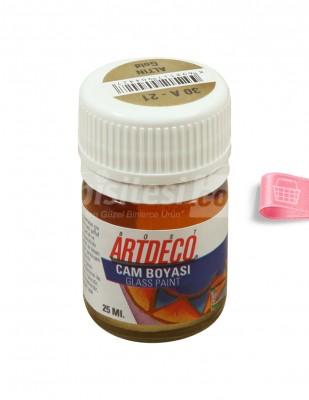 ARTDECO - Artdeco Cam Boyası - Altın - 25 ml